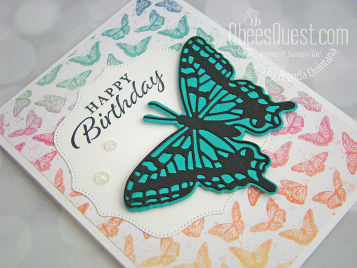 Butterfly Brilliance Card