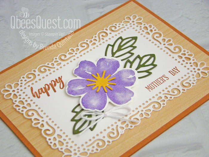 Pretty Perennials Mother's Day Card