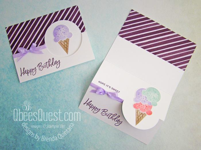 Sweet Ice Cream Flip Cards