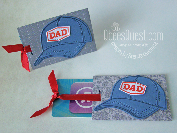Easy Gift Card Holder with Hats Off