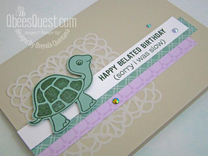 Turtle Friends Birthday Card