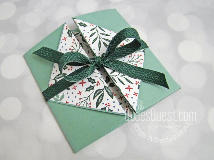 Double Diagonal Fold Card