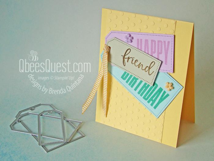Happy Birthday Tag Card