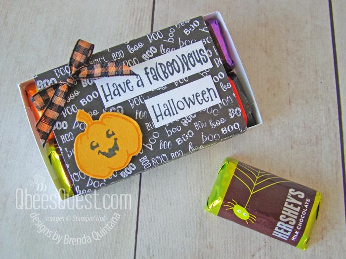 Hershey's Miniatures Halloween Slider