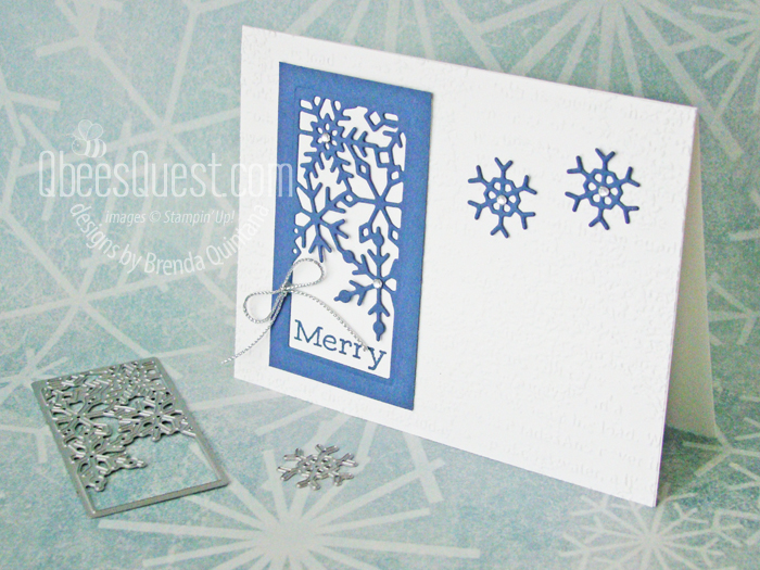 Merry Snowflakes Card