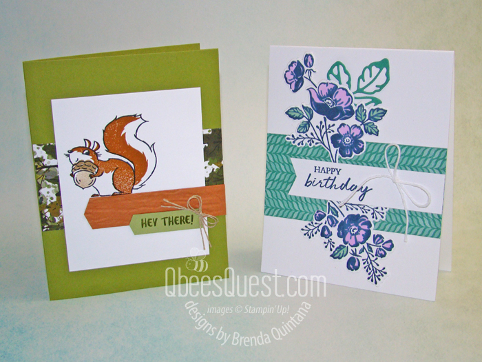 Nic and Brenda CASE cards