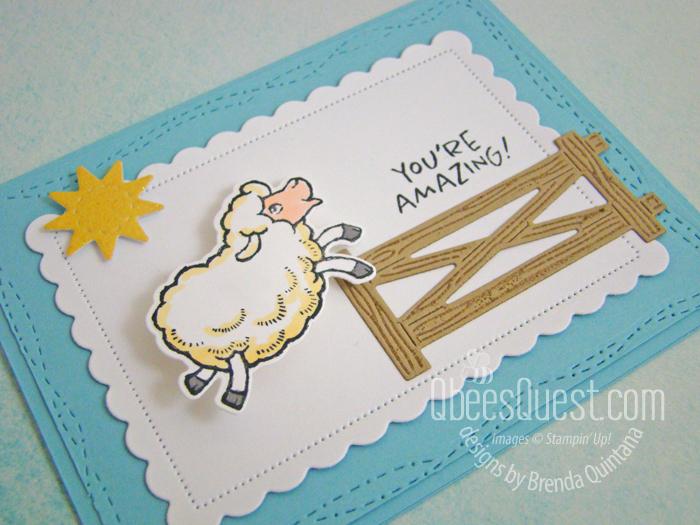 Wobbly Sheep Card