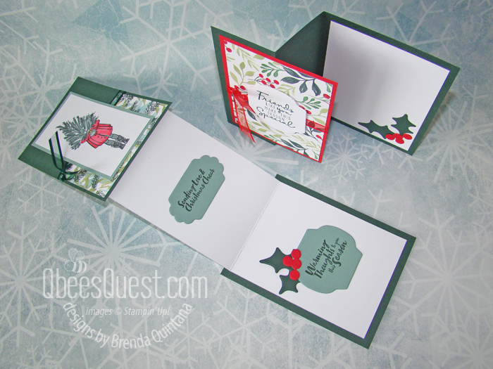 Bee Stampers Team Stamping Night Mystery Cards